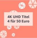Amazon.de: Vier 4K UHD Blu-rays für 48,74 EUR (bis 23.11.20)