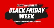 MediaMarkt / Saturn: Black Friday Week Angebote