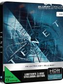 [Vorbestellung] Media Markt & Saturn.de: Tenet Steelbook Blu-ray für 34,99€ + 4K Edition für 44,99€ inkl. VSK