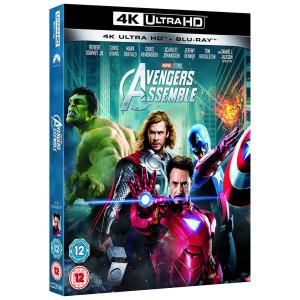 Avengers 4k UK Import Schuber m. Dt. Ton