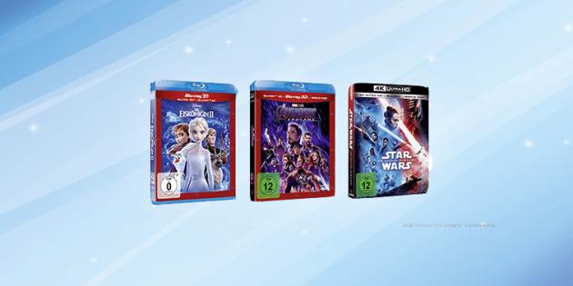 Amazon.de: 3 für 2 Aktion mit 3D & 4K Blu-rays (bis 13.12.20)