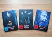 [Fotos/Unboxing] Hellraiser Turbine Mediabooks Teil 1-3 (Cover A) [Blu-ray + DVD]