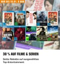 Saturn.de: Entertainment Weekend Deals u.a. 30% auf Filme und Serien