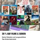 Saturn.de: Entertainment Weekend Deals u.a. 30% auf Filme und Serien