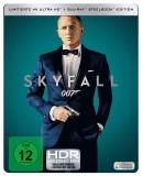 Amazon.de: James Bond – EIN QUANTUM TROST ( 4K UHD + Blu-ray ) Limited Edition und James Bond – SKYFALL ( 4K UHD + Blu-ray ) Limited Edition für je 24,99€