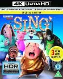 Shop4de.com: Sing [4K Ultra HD] für 8,48€ inkl. VSK (mit dt. Dolby Atmos Tonspur)