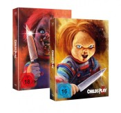 [Vorbestellung] bmv-medien.de: Chucky 2+3 (Piece of Art Combo Box) [Blu-ray] für 39,99€ + VSK