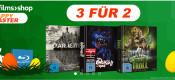 Kochfilms.de: 3 für 2 Angebote