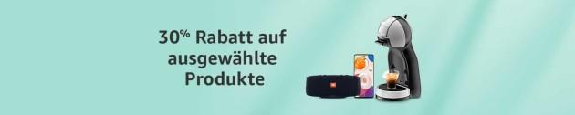 Amazon.de: Warehouse Deals – 30% Rabatt auf ausgewählte Produkte