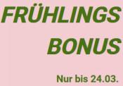 Momox.de: Bis zu 10€ Frühlingsbonus sichern (Gültig bis 24.03.2021)