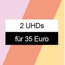 Amazon.de: Neue Aktionen u.a. 2 UHDs für 35 € (bis 18.04.21)