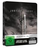 [Vorbestellung] Amazon.it: Zack Snyder's Justice League Steelbook (4K Ultra HD + Blu-ray) für 31,49€ + VSK