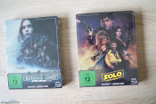 [Review] STAR WARS: A Star Wars Story STEELBOOKS (Rogue One und Solo)