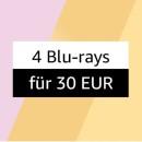 Amazon.de: 4 Blu-rays für 30€ (bis 30.05.21)