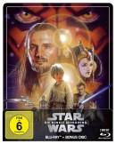 Amazon.de: Star Wars: Episode I – Die dunkle Bedrohung – Steelbook Edition [Blu-ray] für 12,99€ + VSK