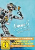 [Vorbestellung] JPC.de: Nummer 5 lebt / Nummer 5 gibt nicht auf (Mediabook) [Blu-ray] 29,99€ inkl. VSK