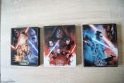 [Review] STAR WARS Sequel Trilogy STEELBOOKS