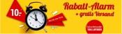 Weltbild.de: 10€ Rabatt-Alarm + GRATIS Versand!