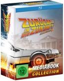 Mueller.de: Zurück in die Zukunft Trilogie (Mediabook) [Blu-ray] für 69,99€