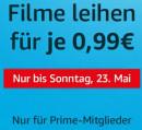 Amazon.de: Filme leihen für je 0,99€. Nur für Prime-Mitglieder. Nur bis Sonntag, 23.05.2021