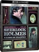 Amazon.fr: Sherlock Holmes Spiel im Schatten 4K UHD Steelbook für 22,99 Euro zzgl. Versand