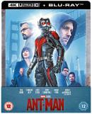 Zavvi.de: Ant-Man (Zavvi Exklusiv Limited Steelbook) [4K UHD Blu-ray] für 12,99€