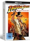 Saturn.de: Indiana Jones 1-4 (Digipak) [4K Ultra HD + Blu-ray] für 58,10€ inkl. VSK