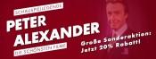 Fernsehjuwelen Shop: Schauspiel Legenden – Peter Alexander. Große Sonderaktion! Jetzt 20% auf ausgewählte Artikel sparen!