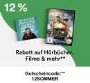 Thalia.de: 13% auf Filme, Hörbücher und mehr (bis 15. Juli)