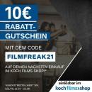 Kochfilms.de: 10 Euro Gutschein (Mindestbestellwert 30 Euro)