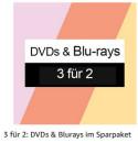 Amazon.de: Neue Aktionen u.a. 3 für 2: DVDs und Blu-rays im Sparpaket (Vom 23.08.2021 bis 05.09.2021)