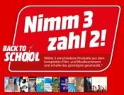 Amazon kontert MediaMarkt.de: Nimm 3 Zahl 2 Aktion auf das gesamte Film- und Musiksortiment (bis 15.08.21)
