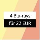 Amazon.de: Sommerangebote – Filme und Serien stark reduziert u.a. 4 Blu-rays für 22€