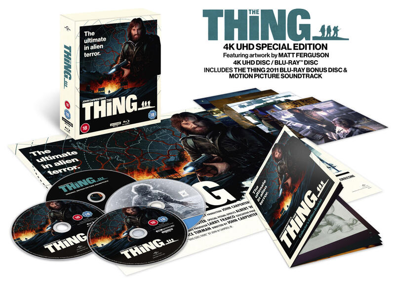 The Thing 4K UHD UK Collector´s Edition s-l1600