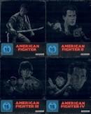 Alphamovies.de: American Fighter 1-4 Uncut / Teil 1+2+3+4 [Steelbook Blu-ray Set] für 19,99€ inkl. VSK