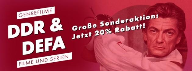 Fernsehjuwelen Shop: DDR & DEFA Klassiker: Große Sonderaktion! Jetzt 20% auf ausgewählte Artikel sparen! (bis 04.10.21)