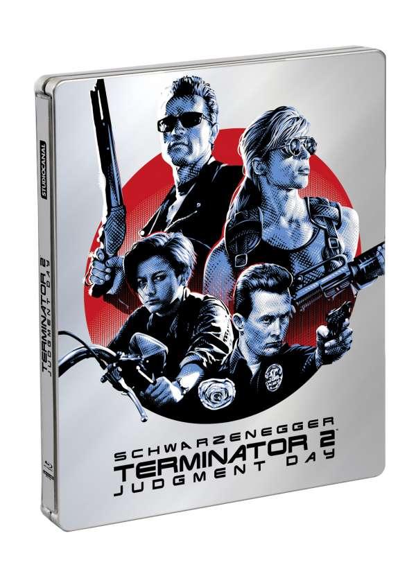 Terminator 2 4K Steelbook