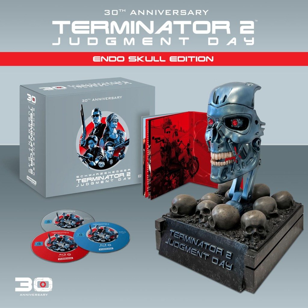 Terminator 2 Endo Skull Edition