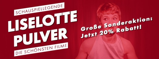 Fernsehjuwelen Shop: Schauspiel Legenden – Liselotte Pulver: Große Sonderaktion! Jetzt 20% auf ausgewählte Artikel sparen!