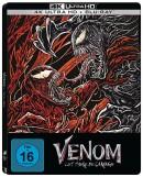 [Vorbestellung] Amazon.de: Venom: Let There Be Carnage – (4K UHD + Blu-ray Limited Steelbook) für 27,99€ + VSK