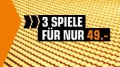 Saturn.de: Gutscheinheft Gaming Aktion – 3 Spiele für 49€ (bis 31.10.21)